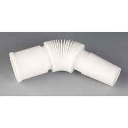 Bellow PTFE ground joint 45/50