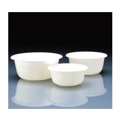 Bowl 3 L PP white round Ø 240 mm pack 5 pcs.