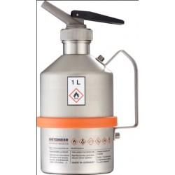 Pojemnik na substancje łatwopalne zawór wylew stal 1 L gryf
