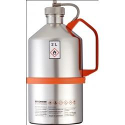 Pojemnik na substancje łatwopalne zawór nadciśnieniaW zakrętce