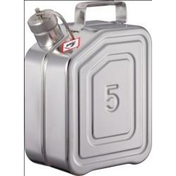 Sicherheitskanister mit Schraubkappe Überdruckventil Edelstahl