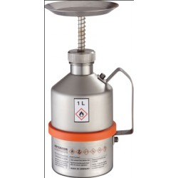 Moisteners 1 L stainless steel unpolished