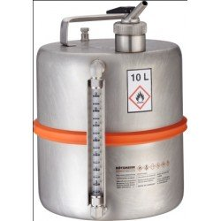 Safety barrel metering device sep. ventilation level indicator