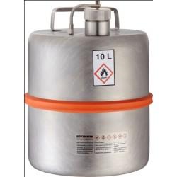 Sicherheitsstandgefäß with Schraubkappe Überdruckventil 10L