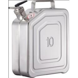 Kanister na substancje łatwopalne z zaworem nadciśnienia stal