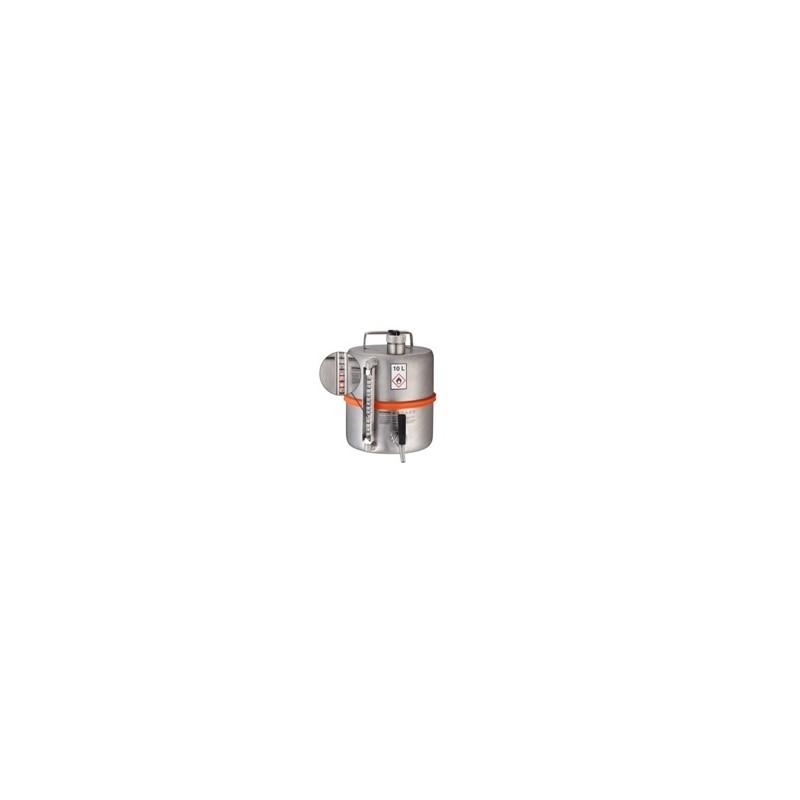 Safety barrel tap sep. ventilation pressure control valve level
