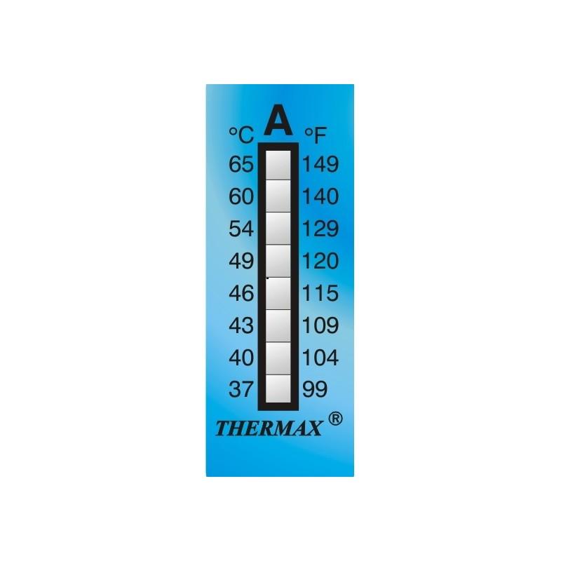 Pasek do pomiaru temperatury 8 poziomów zakres +160 do +199°C