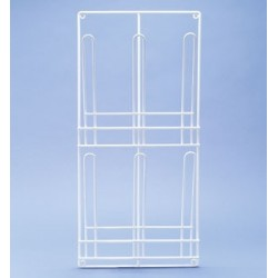 Draining rack for 2x3 urinals stainless steel 350x740 mm