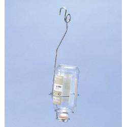 Flaschenhalter für Infusionsflaschen von 100-1000 ml mit Haken