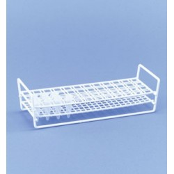 Rack for EPPENDORF reaction vessels 1,5 ml 4 x 12 wire PE-white