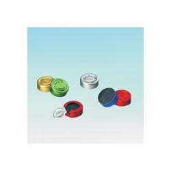 Aluminiumkappe 20 mm Ganzabriss rot-lackiert*Ausverkauf*