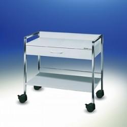 Variocar® 90 Basiswagen weiß B x T x H 900 x 450 x 870 mm
