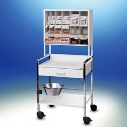 Wózek zabiegowy Variocar® 60 COMPACT biały