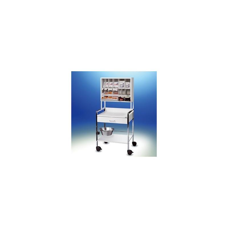 Variocar® 60 Behandlungswagen COMPACT weiß