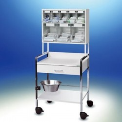 Variocar® 60 Injektionswagen PicBox® multi weiß