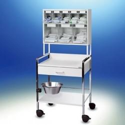 Wózek injekcyjny Variocar® 60 PicBox® multi biały