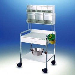Variocar® 60 Injektionswagen PicBox® weiß