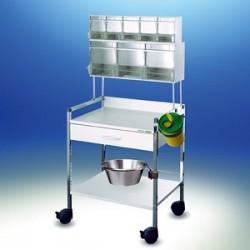 Wózek injekcyjny Variocar® 60 PicBox® biały