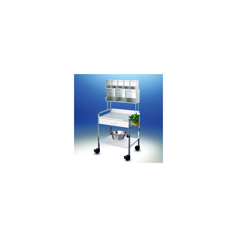 Injection trolley Variocar® 60 PicBox® white