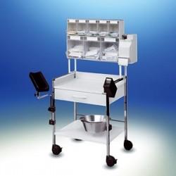 Wózek injekcyjny Variocar® 60 PicBox® Plus biały
