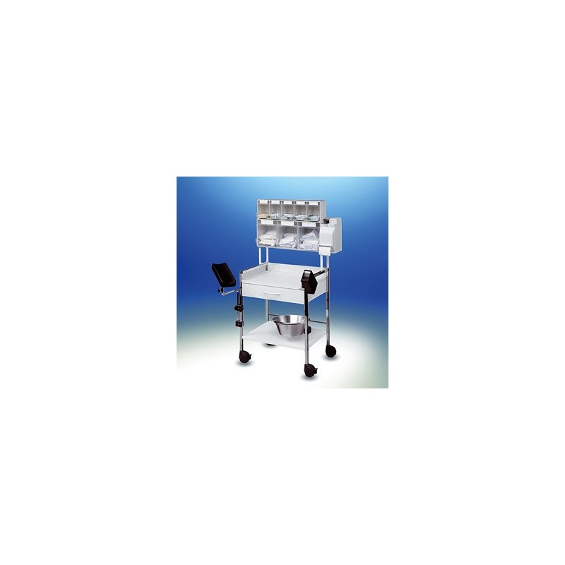Injection trolley Variocar® 60 PicBox® Plus white
