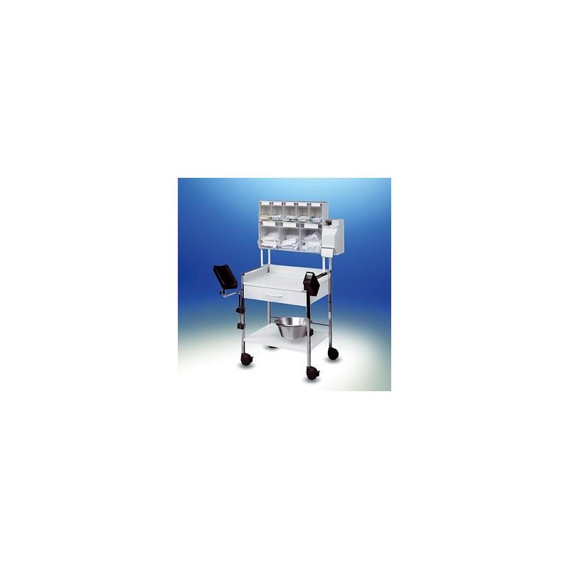 Variocar® 60 Injektionswagen PicBox® Plus weiß
