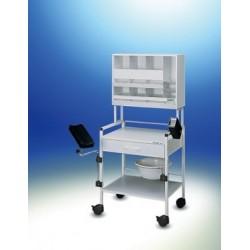 Wózek injekcyjny Variocar® 60 COMPACT biały