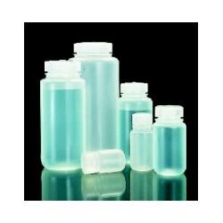 Weithalsflasche PP 125 ml mit Schraubverschluss bis 135°C