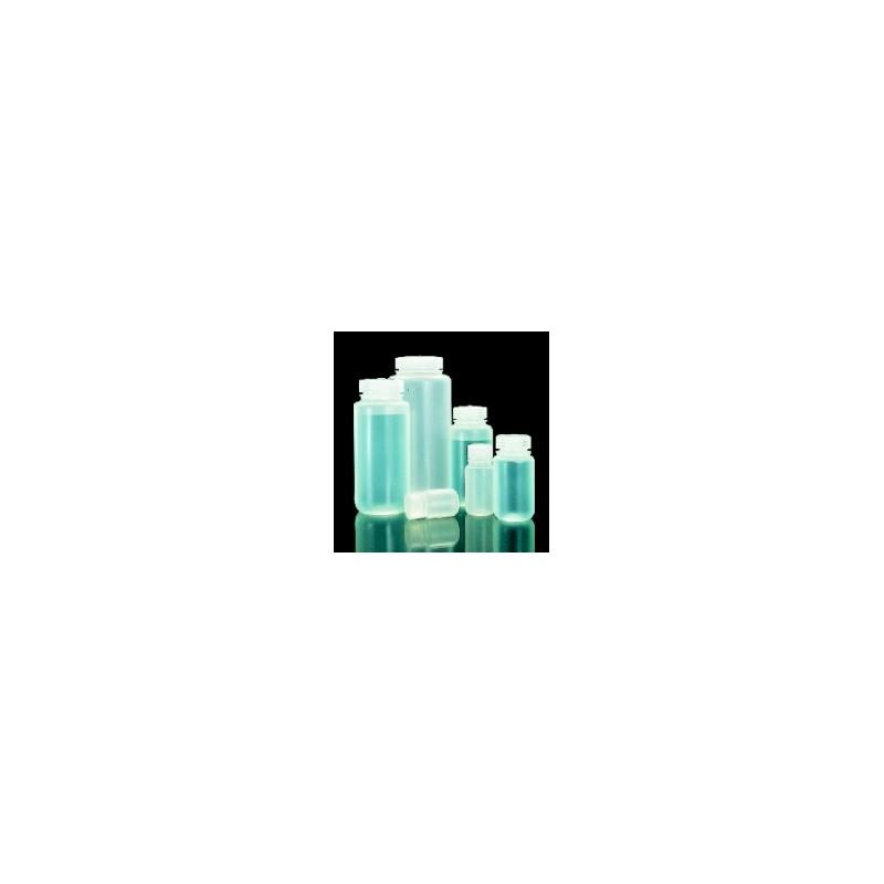 Butelka szerokoszyjna PP 125mL z zakrętką do 135°C