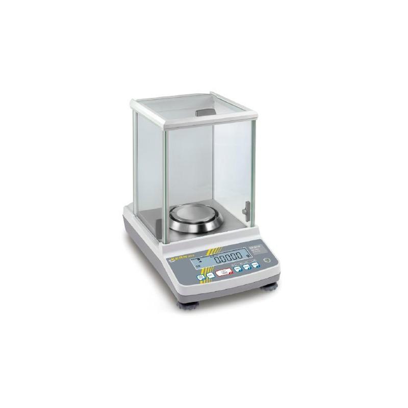 Analytical balance ABJ 120-4NM weighing range 120 g readout 0,1