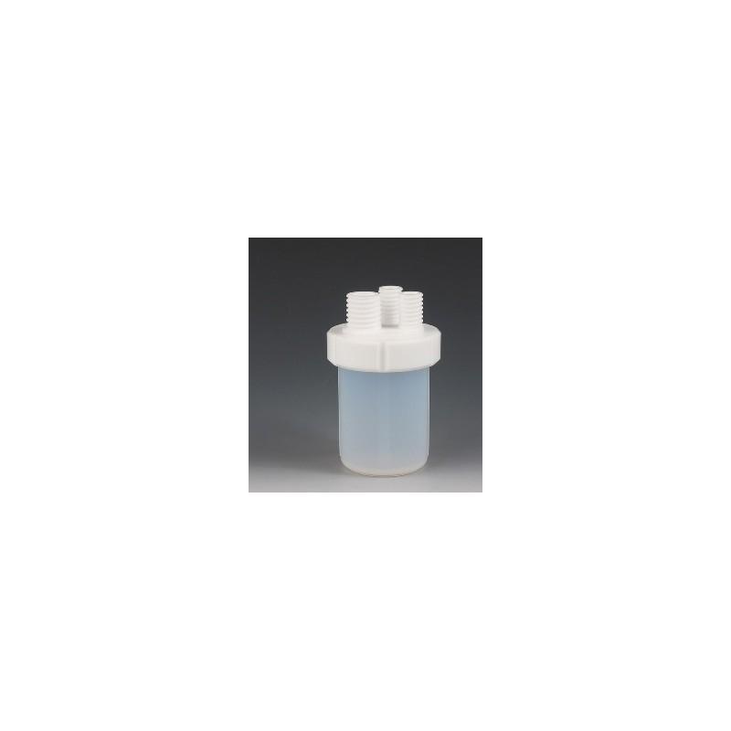 Mikro-Reaktionsgefäße PFA/PTFE 240 ml Stutzen 2xGL18/1xGL25