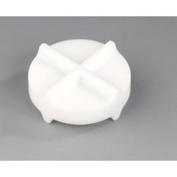 Mieszadełko magnetyczne podwójnie krzyżowe PTFE 30 x 12 mm op.