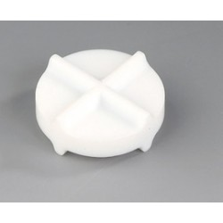 Tabletten-Magnet-Rührstäbchen PTFE 30 x 12 mm VE 3 Stck.