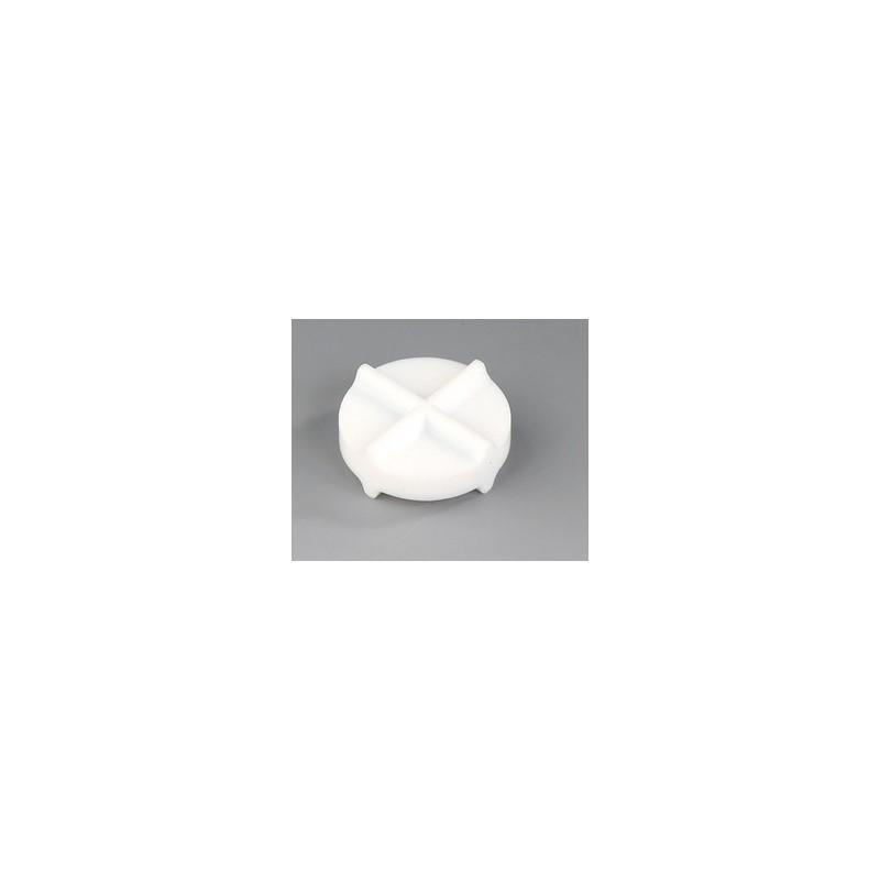 Mieszadełko magnetyczne podwójnie krzyżowe PTFE 35 x 12 mm