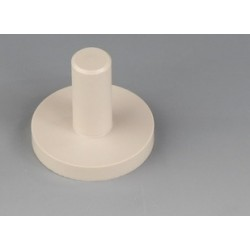 Lagerzapfen für Tandem Magnetrührstäbchen PTFE Zapfen-Ø 12 mm