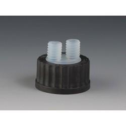 Screw cap GL 45 with 2 Necks GL14 PFA