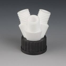 Screw cap GL45 3 Necks GL25 PTFE