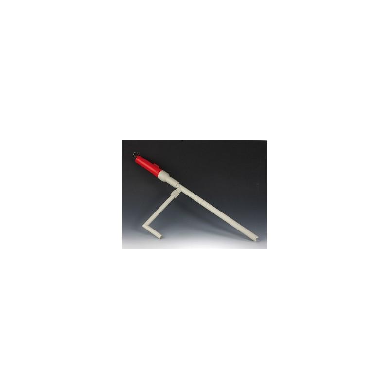 Bezprzewodowa pompa na kwasu i zasady PP 400 mm