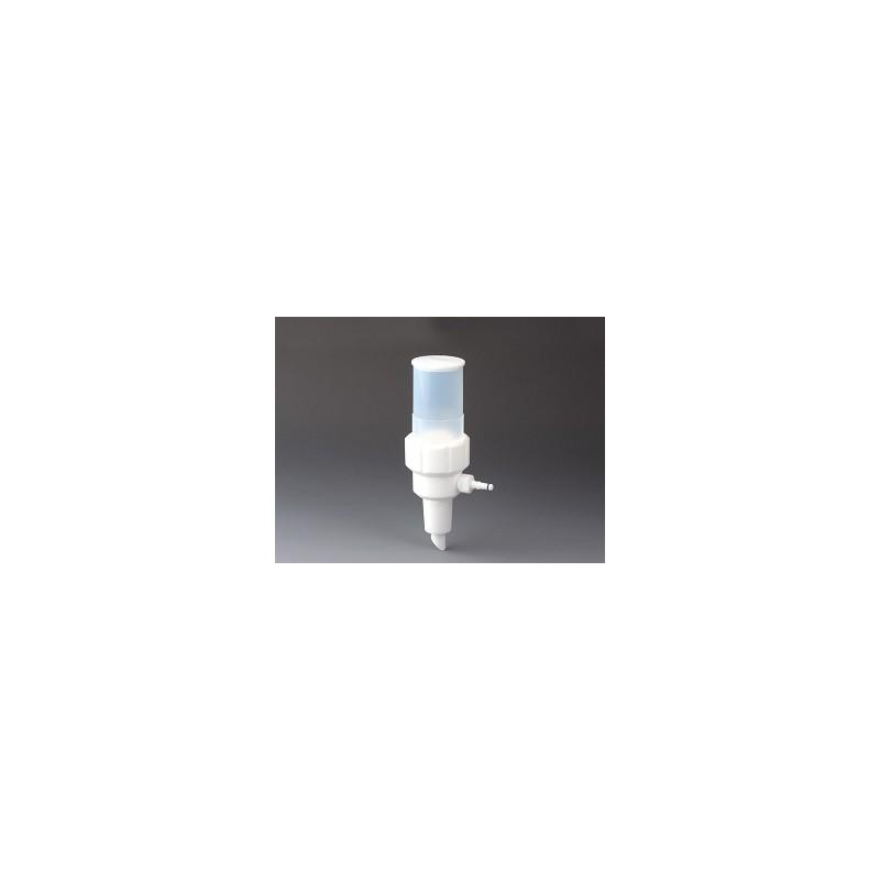 Vakuum-Filtertrichter PTFE/PFA 125 ml für Membrane Ø 47 mm