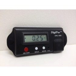 Miernik nachylenia cyfrowy Digi-Pas DWL180CWP podziałka 0,05 °