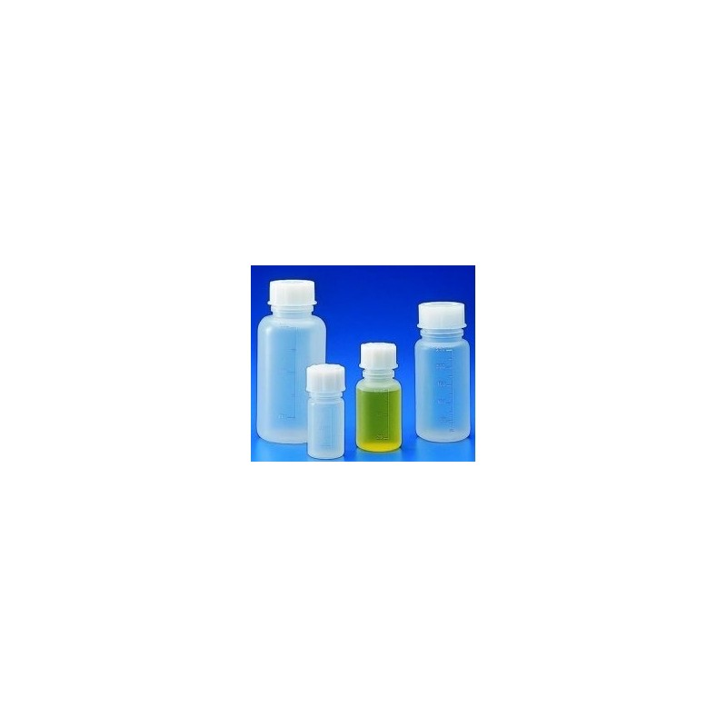 Weithalsflasche PP 1000 ml mit Graduierung autoklavierbar mit