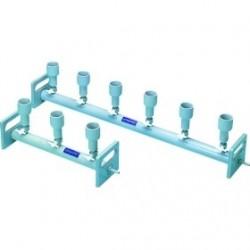 Vakuumfiltrationsgerät KMP 6 PVC sechsstellig