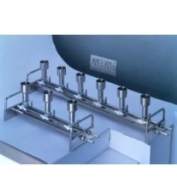 Vakuumfiltrationsgerät KM6N Edelstahl sechs Halter