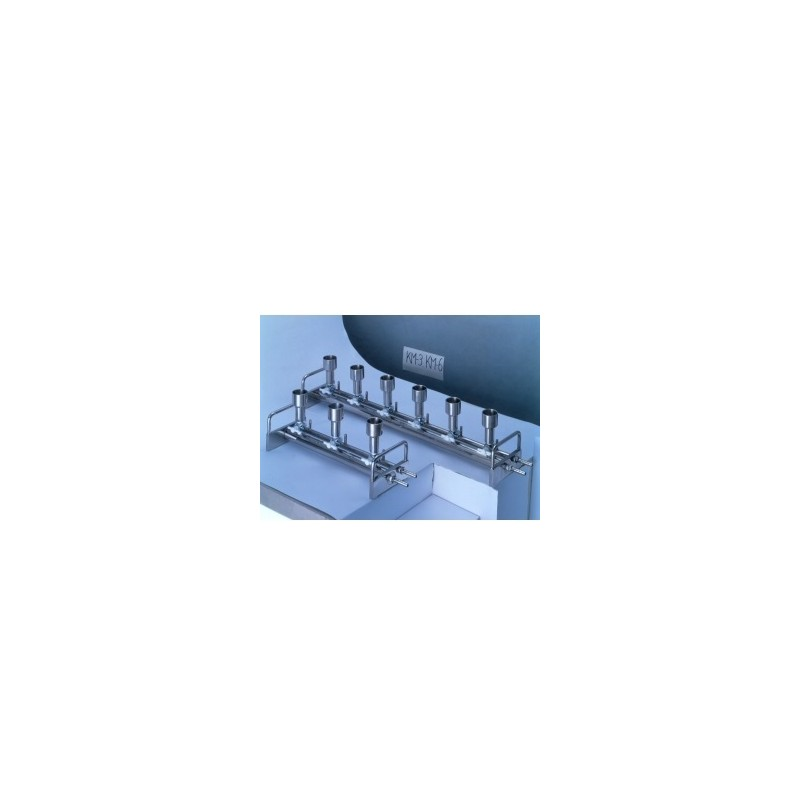 Stainless steel 6-Station Manifold KM6N