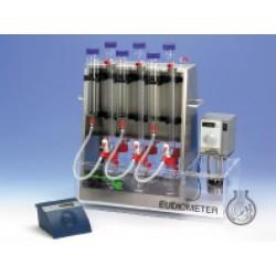Eudiometer 6-Messstellen zur Bestimmung des Faulverhaltens nach