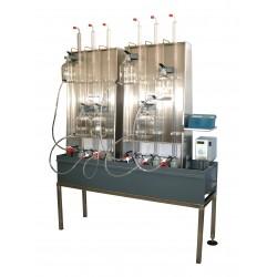 Eudiometr 12-pozycyjny pojemność 500 ml do pomiaru procesu