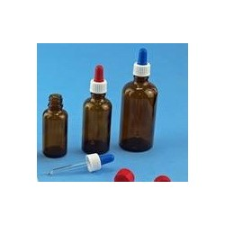 Pipette kit consisting of screw cap suction bulb and glass