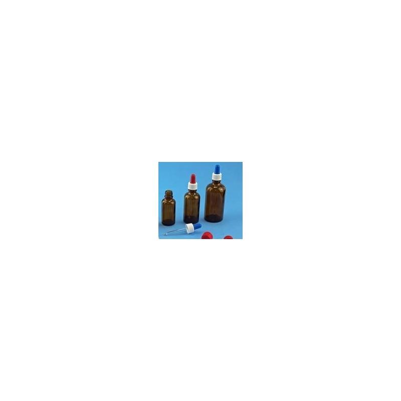 Pipettenmontur aus Schraubkappe Saughütchen und Glaspipette für