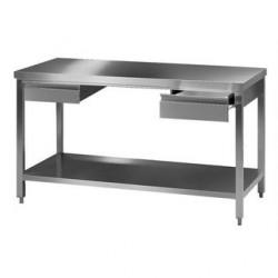 Stół laboratoryjny 2 stal 18/10 DxSxW 1000x750x900 mm