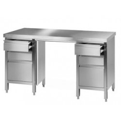 Laboratory worktable 4 18/10 Stainless Steel LxWxH 2000x750x900